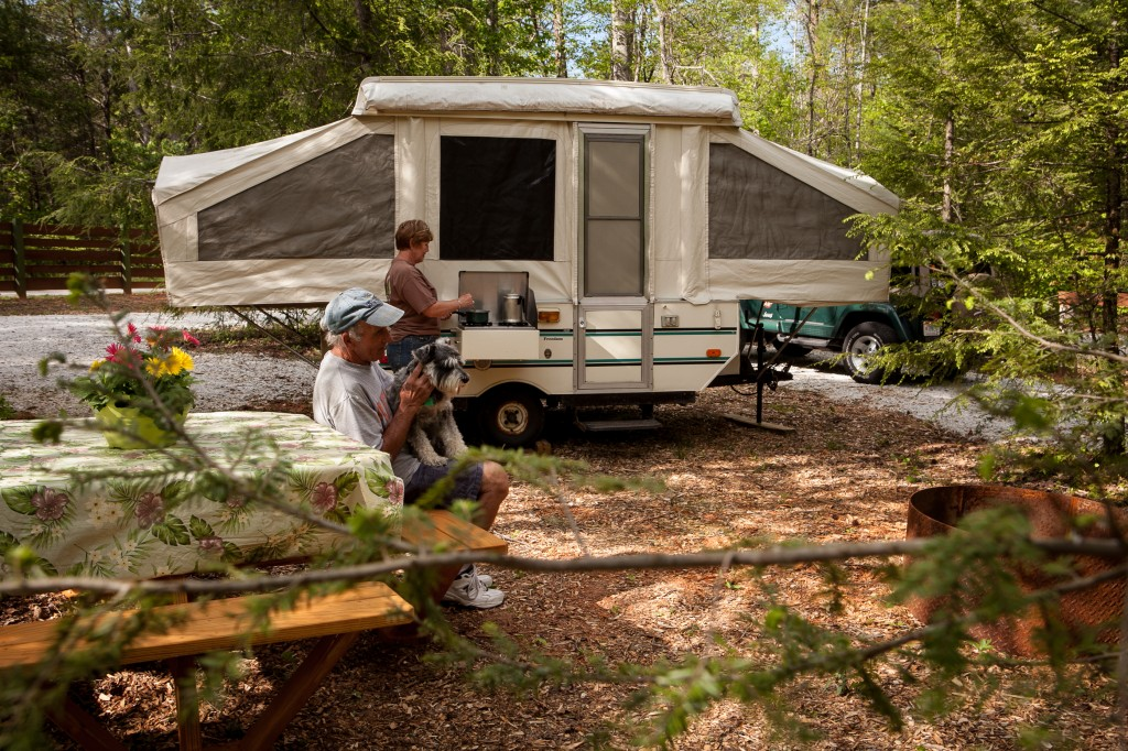 Chattooga Sounds Drive-In Campsite
