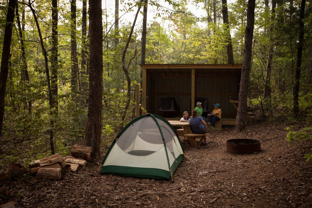 Chattooga Sounds Camp Shed