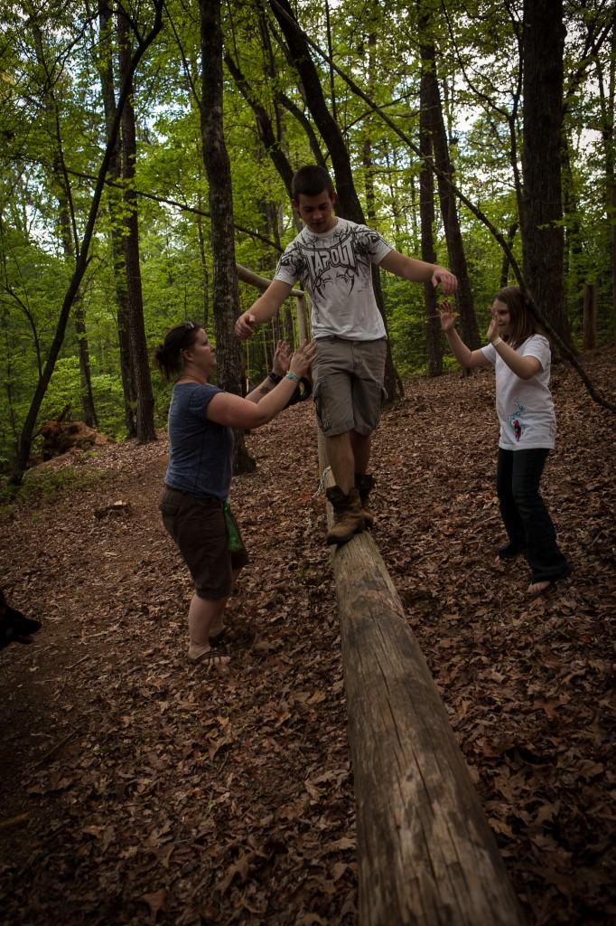 Chattooga Sounds Camp Low Ropes Course