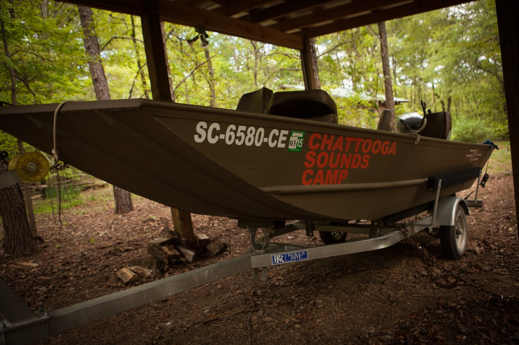 Boating at Chattooga Sounds Camp