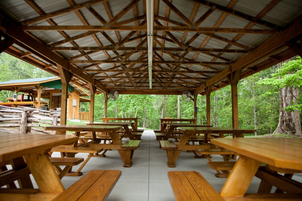 Chattooga Sounds Covered Picnic Shelter