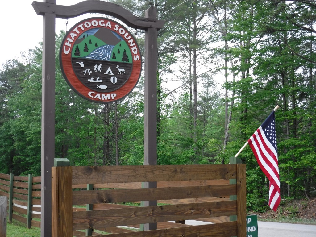 Chattooga Sounds Campground near the Chattooga River